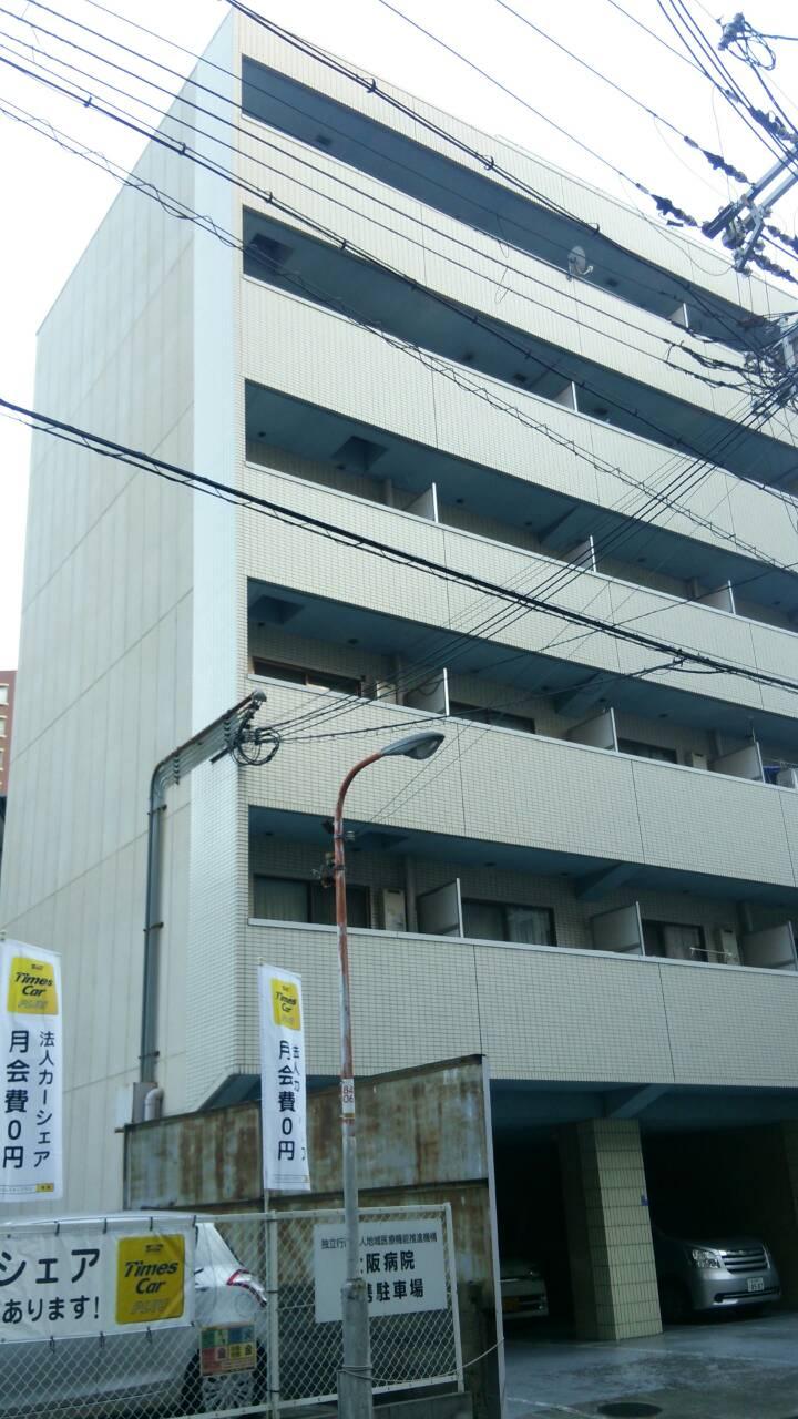 大阪市福島区ー外壁塗装工事-施工前