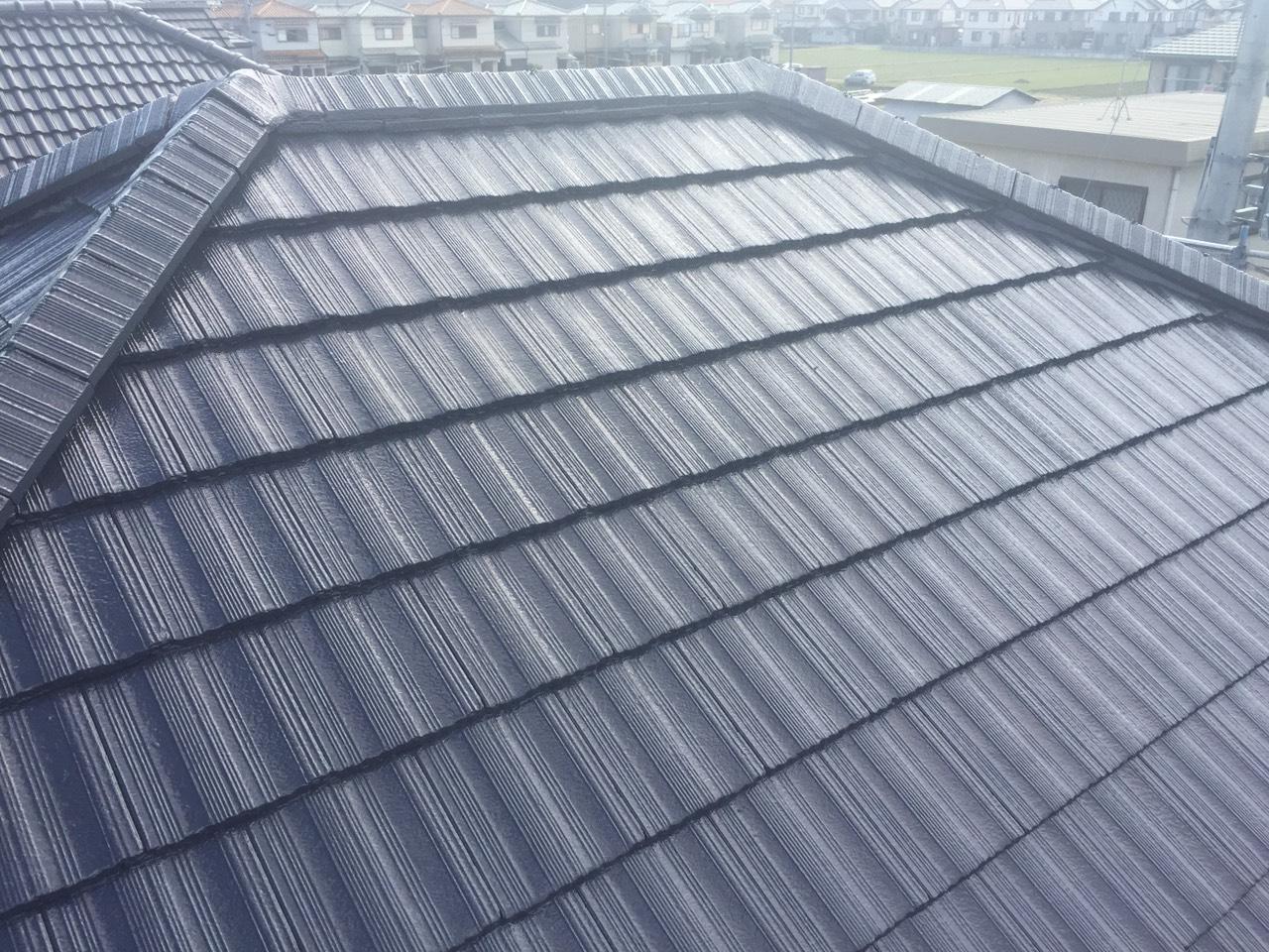 奈良県橿原市K様邸ー屋根塗装工事-施工後