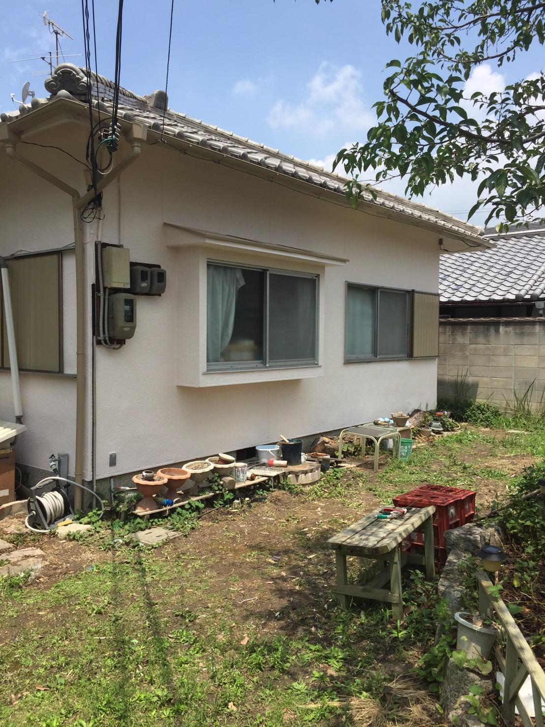 奈良県北葛城郡広陵町T様邸 外壁塗装及び波板張替え工事-施工後