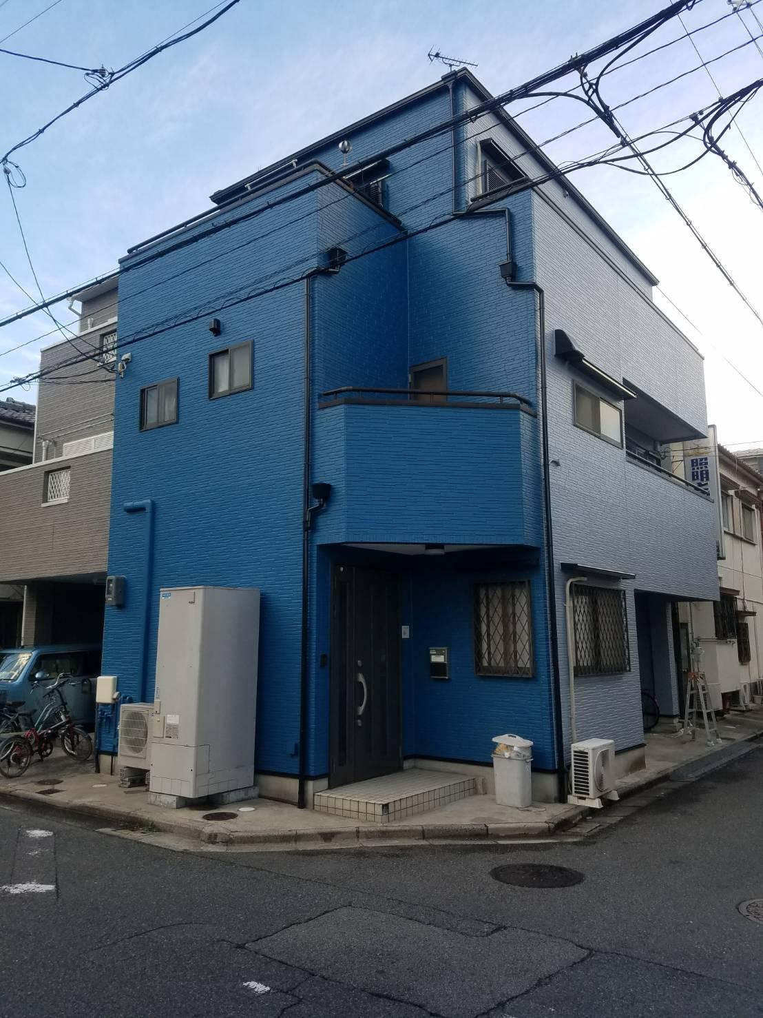堺市中区K様邸 屋根外壁塗装及び防水工事-施工後