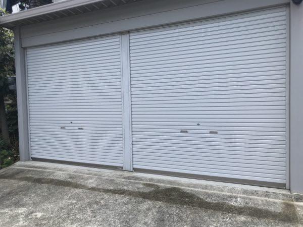 堺市中区BCM様 シャッター塗装工事-施工後