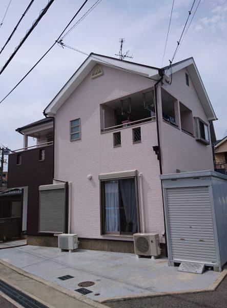 和泉市M様邸 屋根外壁塗装及び防水工事-施工後