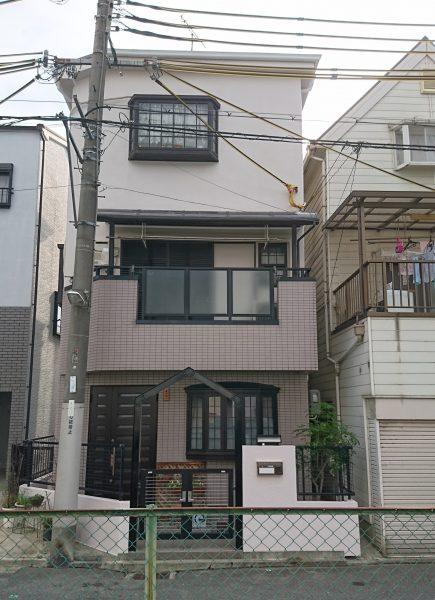 東大阪市N様邸 屋根 外壁塗装及び防水工事-施工後
