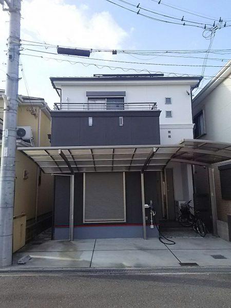 大阪府岸和田市N様邸 屋根 外壁塗装及び防水工事-施工後