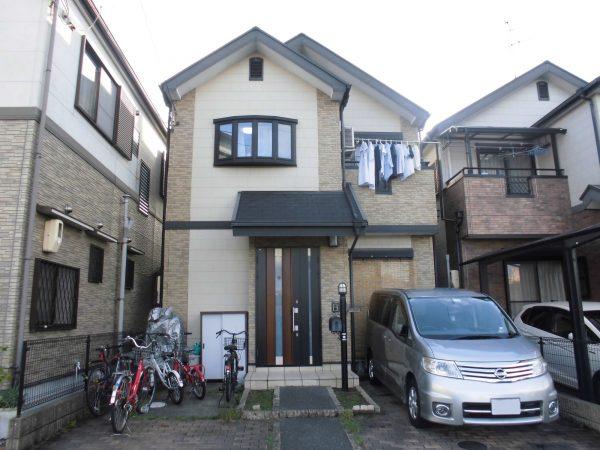 堺市中区I様邸屋根 外壁塗装工事及び防水工事-施工前
