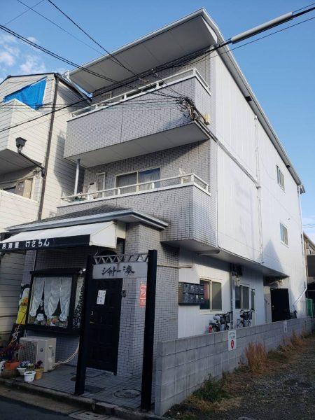 堺市堺区シャトー湊 屋根 外壁塗装及び防水工事-施工後