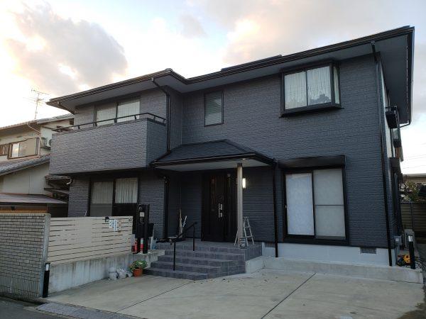大阪府岸和田市Y様邸 屋根 外壁塗装工事-施工後
