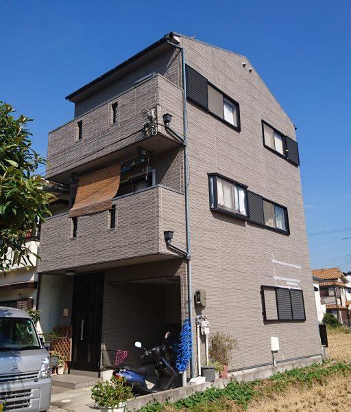 堺市東区O様邸 屋根外壁塗装及び防水工事-施工前