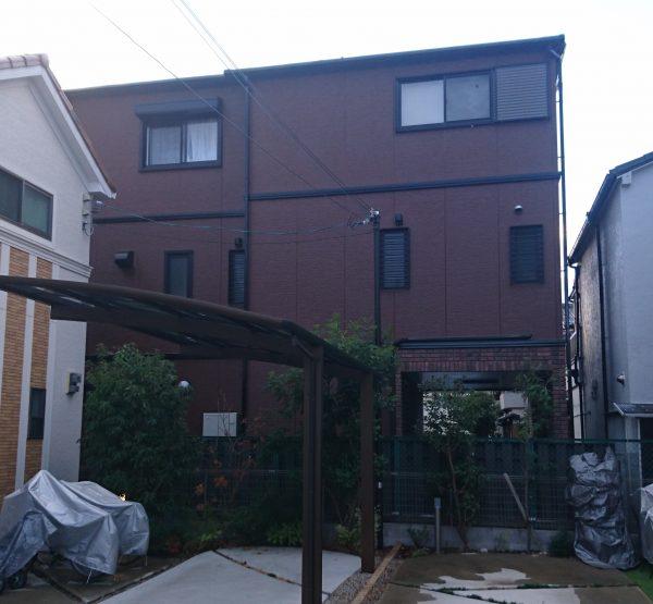 堺市東区S様邸 屋根 外壁塗装工事-施工後