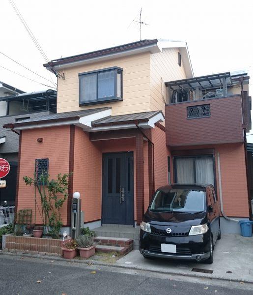 大阪府和泉市N様邸 屋根 外壁塗装及び防水工事-施工後