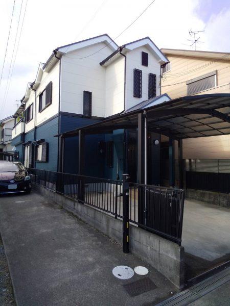 大阪府岸和田市T様邸 屋根 外壁塗装及び防水工事-施工後