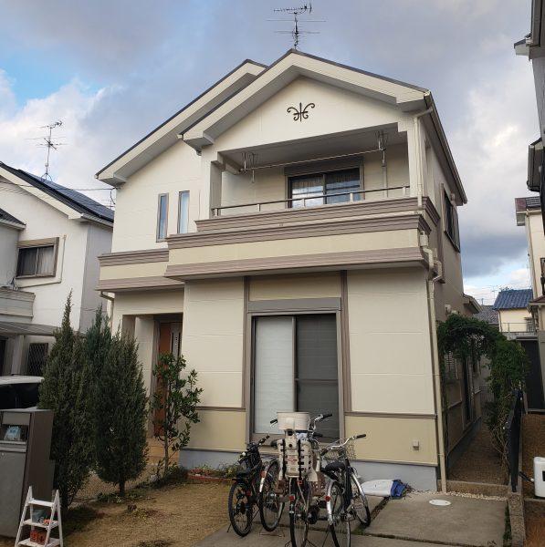 堺市西区I様邸 屋根 外壁塗装及び防水工事-施工後