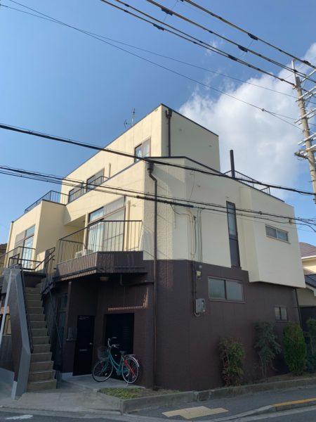 堺市東区Y様邸  外壁塗装工事及び防水工事-施工後