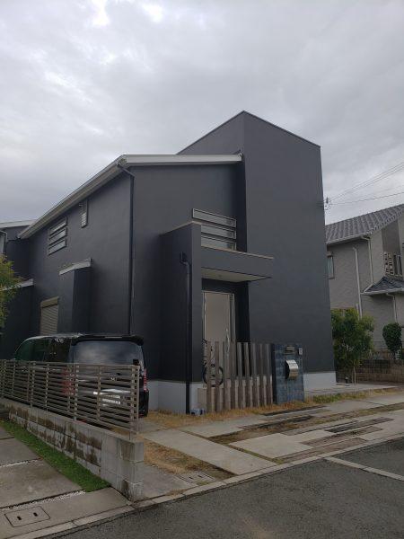 大阪府和泉市H様邸 屋根 外壁塗装工事及び防水工事-施工後
