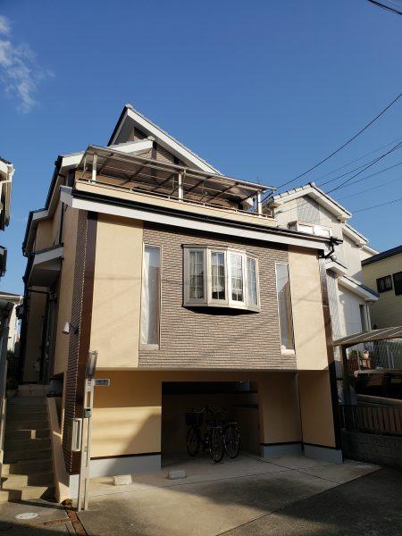 堺市西区S様邸 外壁塗装工事及び防水工事-施工後