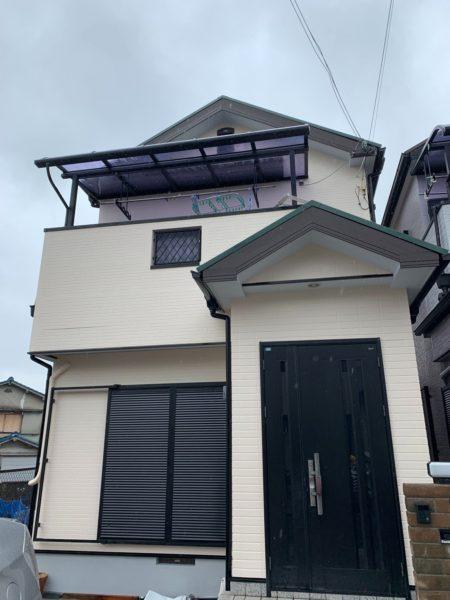 大阪府和泉市M様邸屋根 外壁塗装及び防水工事-施工後