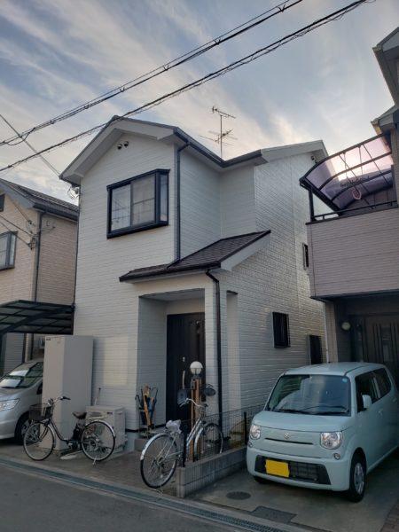 堺市西区O様邸屋根 外壁塗装工事及び防水工事-施工後
