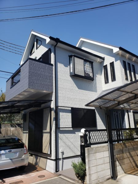 大阪府岸和田市H様邸 屋根 外壁塗装工事及び防水工事-施工後