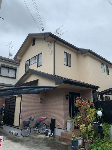 大阪府和泉市K様邸 屋根 外壁塗装工事及び防水工事-施工後