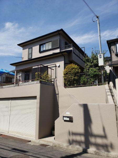 大阪府貝塚市S様邸 屋根 外壁塗装工事-施工後