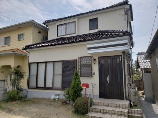 大阪府岸和田市N様邸 外壁塗装工事及び防水工事-施工後