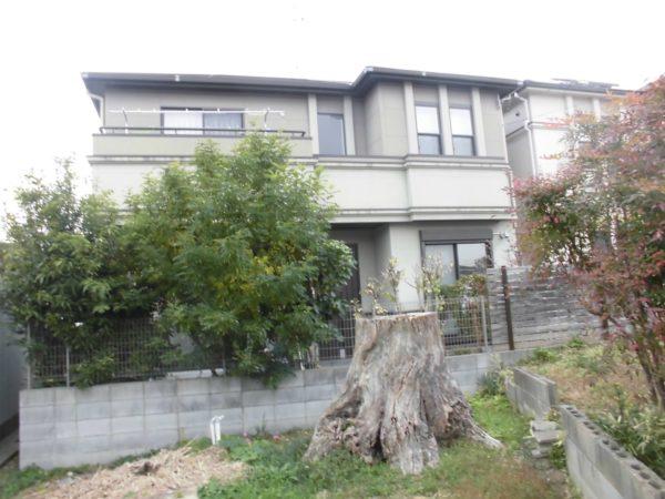 大阪府堺市中区M様邸 屋根 外壁塗装及び防水工事-施工前