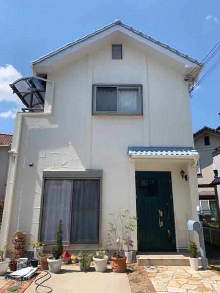 大阪府和泉市W様邸 屋根 外壁塗装工事及び防水工事-施工後