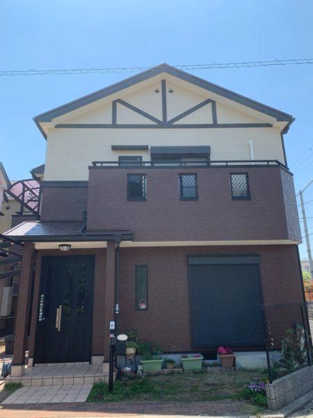 大阪府堺市西区O様邸 屋根 外壁塗装工事及び防水工事-施工後