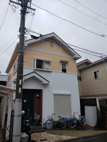 大阪府高石市O様邸 屋根 外壁塗装工事及び防水工事-施工後