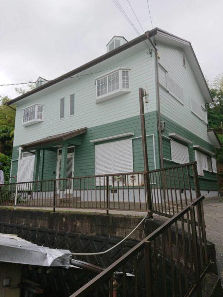 大阪府河内長野市Y様邸 屋根 外壁塗装工事-施工後