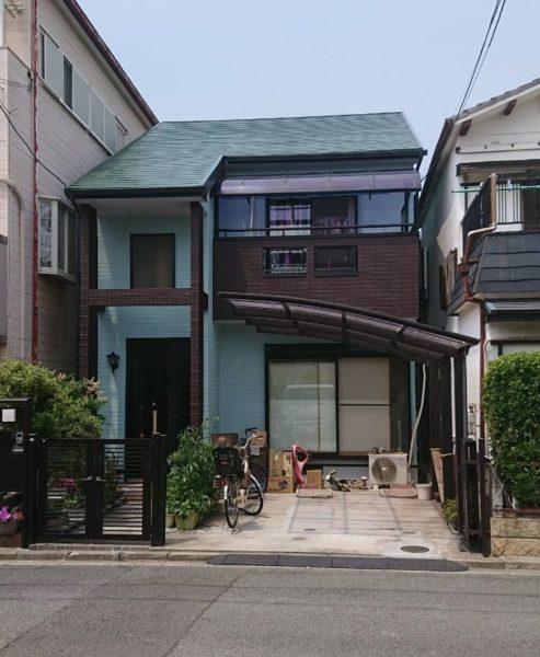 大阪府堺市中区T様邸 屋根 外壁塗装工事及び防水工事-施工後