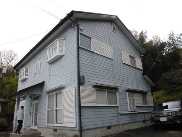 大阪府河内長野市Y様邸 屋根 外壁塗装工事-施工前