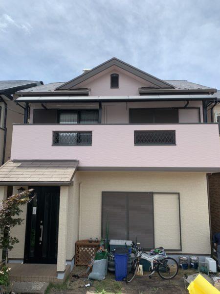大阪府和泉市M様邸 屋根 外壁塗装工事及び防水工事-施工後