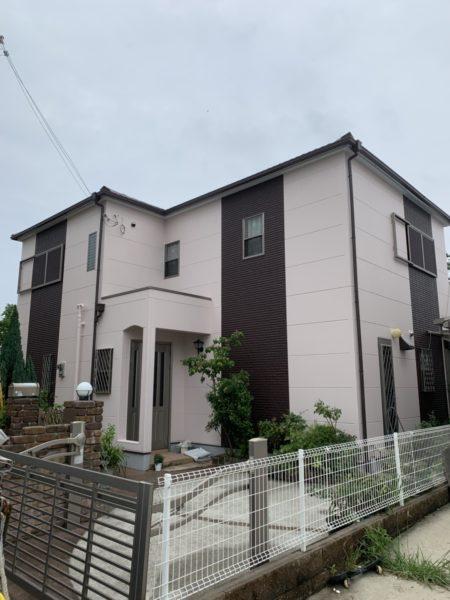 大阪府和泉市N様邸 屋根 外壁塗装工事及び防水工事-施工後