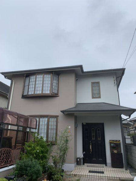 大阪府堺市中区Ò様邸 屋根 外壁塗装工事及び波板張り替え工事-施工後
