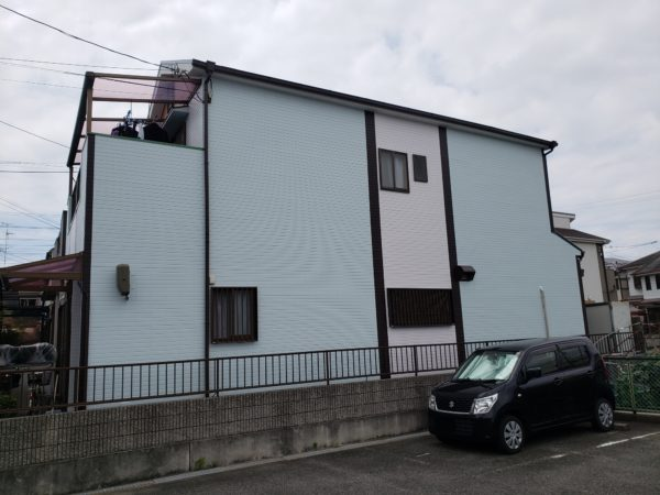 大阪府堺市堺区T様邸 屋根 外壁塗装工事及び防水工事-施工後