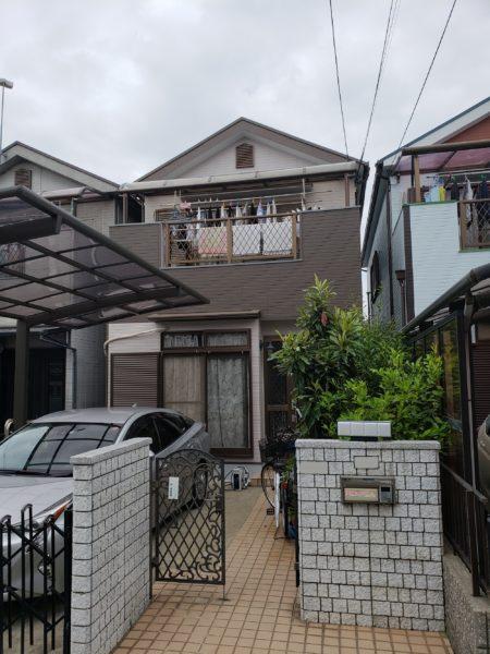 大阪府堺市堺区N様邸 屋根 外壁塗装工事及び防水工事-施工後
