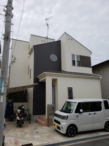 大阪府岸和田市Y様邸 屋根 外壁塗装及び防水工事-施工後