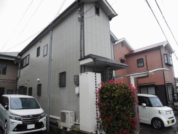 大阪府和泉市K様邸 屋根 外壁塗装工事及び防水工事-施工前