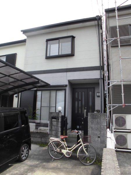 大阪府河内長野市S様邸 屋根 外壁塗装工事及び防水工事-施工前