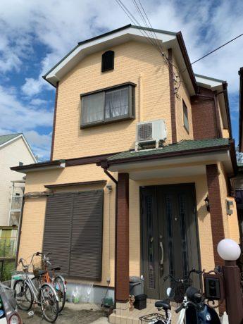 大阪府和泉市Y様邸 屋根 外壁塗装及び防水工事-施工後