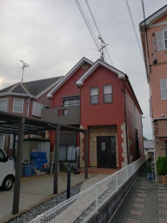 大阪府和泉市I様邸 屋根 外壁塗装工事-施工後