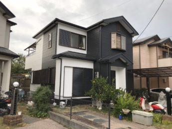 大阪府貝塚市K様邸 屋根 外壁塗装及び防水工事-施工後