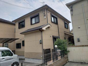 大阪府岸和田市Y様邸 屋根 外壁塗装工事-施工前