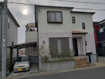 大阪府岸和田市F様邸 屋根 外壁塗装工事及び防水工事-施工後