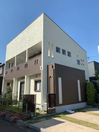 大阪府和泉市H様邸 屋根 外壁塗装及び防水工事-施工後