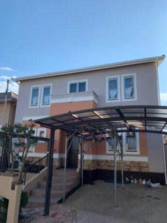 大阪府堺市南区K様邸 屋根 外壁塗装及び防水工事-施工後