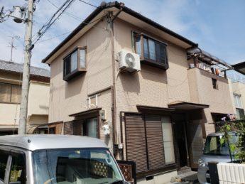 大阪府松原市K様邸 屋根 外壁塗装及び防水工事-施工前
