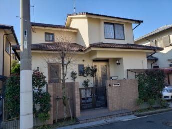 大阪府和泉市Y様邸 屋根 外壁塗装工事-施工後