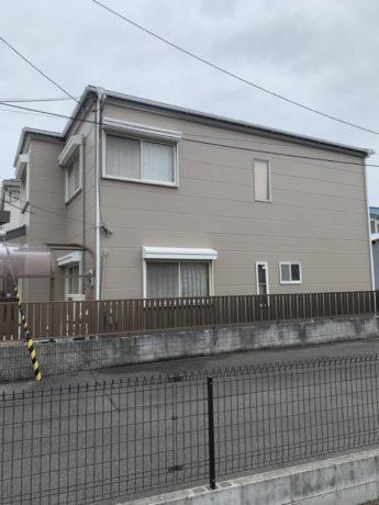 大阪府堺市北区I様邸 屋根 外壁塗装及び防水工事-施工後